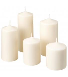 شمع استوانه 5تایی FENOMEN